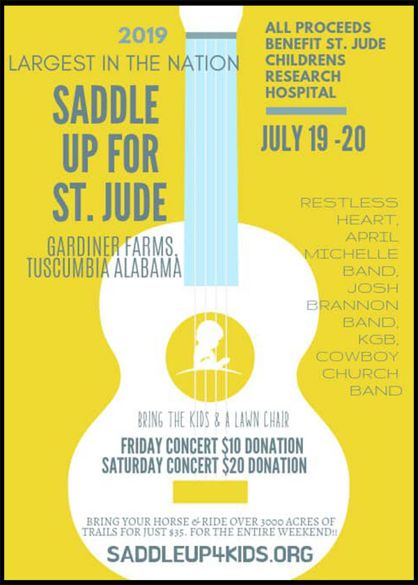 Saddle Up For St Jude