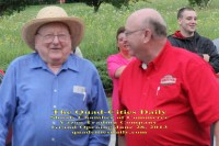 William Brust - Oldest Veteran to attend the Grand Opening - Marine Corps WWII
